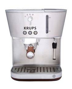 KRUPS XP4600 Silver Art Collection Pump Espresso Machine with Precise Tamp #Krups