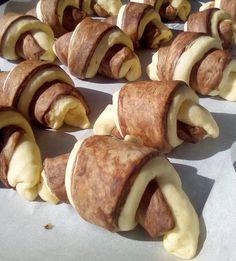 Κρουασάν σοκολατένια με γέμιση μερέντας !!!! ~ ΜΑΓΕΙΡΙΚΗ ΚΑΙ ΣΥΝΤΑΓΕΣ 2 Sausage, Meat, Blog, Drop Cloths, Sausages, Blogging, Chinese Sausage