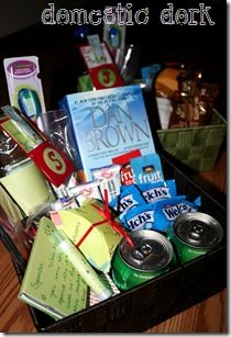 House guest goodie basket @Christina Childress Childress Krauser  you should totally do this for your in-laws!
