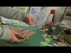 Tumbler - la coupeTumbler. Gabarit acrylique permettant la réalisation du quilt des dés à coudre en méthode rapide à la machine. Coupe au cutter rotatif. Lar...