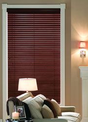"""Check out this great Faux Wood Blinds - 2"""" Premium Faux Wood Blinds ... on AmericanBlinds.com – make those windows beautiful!"""