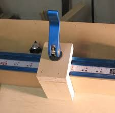 Image result for flip stop block table saw