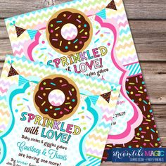 """I keep hearing about a """"Sprinkle Shower"""" for your 2nd baby - LOVE this idea. So adorable! I think though if its a different gender (when I get prego - which I'm not) I would need a few things....but yes a Sprinkle would be perfect  ;D"""
