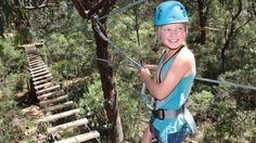 $59 via Red Balloon - Tree Surfing Experience with 5 Challenging Levels - 2 Hours Mornington Peninsula, VIC..Tree Surfing is an exhilarating ropes adventure at Victoria's Enchanted Adventure Garden. Experience the ultimate green room as you climb and surf though the trees. Test your skills on the bridges, walls, nets and the 8m Tarzan swing.
