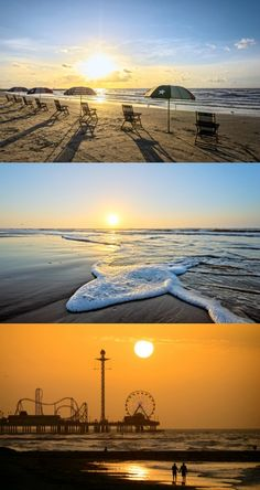 Sunset spotting over Galveston Island, Texas. The best things to do on Galveston Island, Texas. Beaches, restaurants, fishing, family-friendly activities, and more. Pin this post to save it for your next Gulf Coast beach vacation.