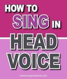 Piano Ear Training How to sing in head voice without straining your throat. Vocal Lessons, Singing Lessons, Singing Tips, Music Lessons, Guitar Lessons, Learn Singing, Singing Quotes, Art Lessons, Music Quotes