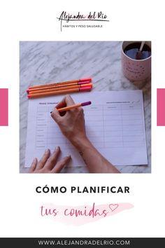 Aprende cómo planificar las comidas de manera fácil #planificar #menusemanal #perderpeso