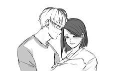 "kawaiikrisschan: ""heroes became parents """