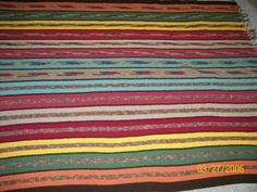 INDIAN PAINT BRUSH AFGHAN