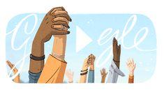 Doodle Disney Princess Castle, Girl Power Quotes, Challenge The Status Quo, Happy International Women's Day, Google Doodles, Art Google, Logo Google, Happy Women, Civil Rights