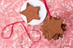 Dandelions on the Wall: Cinnamon Cookie-Cutter Ornaments