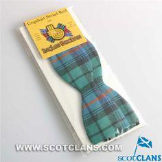 Clan Urquhart Broad Red Tartan Bow Tie