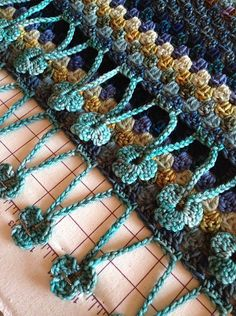 Ravelry: chitweed's MadMay Half Granny Square/Shawl