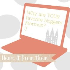 Why are so many bloggers Mormon? Find out here! #lds #mormon #mormonblogger