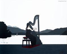 Annabelle.  Sur les bords du lac