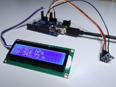 Arduino barometer project using BMP180 - Tutorial45
