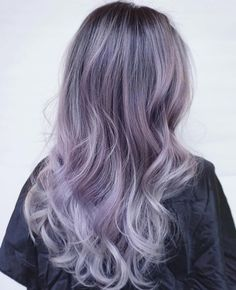 purple+blonde+hair+with+black+roots