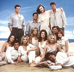 Melrose Place - the best night time soap of the 90s!