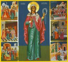 St. Argyre/Argyro/Argyra, the Patron Saint of marriage - April 30