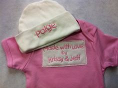 Made with Love <3  Great new #baby #gift from #WickedStitchesGifts