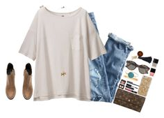 """""""let new adventures begin"""" by touch-of-sass ❤ liked on Polyvore featuring J.Crew, Uniqlo, Kendra Scott, H&M, Anna Beck, Louis Vuitton, NARS Cosmetics, RetroSuperFuture, Butter London and Wanderlust + Co"""
