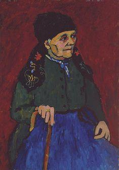 Murnauerin (Frau Schönach) - by Christie's