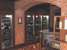 Our Custom Wine Cases Installed in Harrah's Hotel Casino(Oyster Bar), Las Vegas NV. All of our wine cases and racks are NSF approved and designed in house per our customer's requests and/or needs. Commercial Kitchen Design http://hbb6.com/Casino
