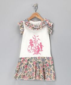 Take a look at this White Tapestry Dress - Infant, Toddler & Girls by Blow-Out on #zulily #fall today!