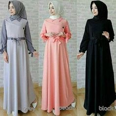 44 Best Ide Gamis Images On Pinterest Hijab Fashion Hijab Outfit