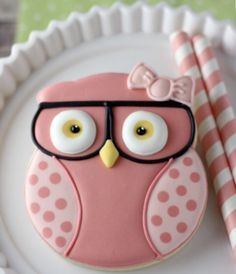 owl and pink image