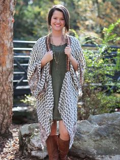 Autumn Wind Kimono