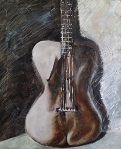 ARTFINDER: GuitarBody by Morphd MoHawk - I love guitars, have several and play them regularly. One day I was noticing how sensual the curves were and also giving thought as to why so many guys learn. Mike Montgomery, Original Artwork, Original Paintings, Guitar Body, Limited Edition Prints, Paintings For Sale, Online Art, Sculptures, Art Prints
