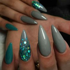 ▷ Over 130 ideas for pointed nails - framing and design - artificial nails . - ▷ Over 130 ideas for pointed nails – framing and design – artificial nails pointed ideas, lon - Fabulous Nails, Gorgeous Nails, Pretty Nails, Hot Nails, Hair And Nails, Acrylic Nail Designs, Nail Art Designs, Nails Design, Stiletto Nail Designs