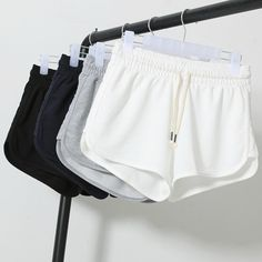 Cheap shorts boy, Buy Quality pants stockings directly from China pants Suppliers: 2017 Summer Street Fashion Shorts Women Elastic Waist Short Pants Women All-match Loose Solid Soft Cotton Casual Short Femme Sexy Shorts, Sport Shorts, Running Shorts, Casual Shorts, Gym Shorts Womens, Jogger Shorts, Women Shorts, Loose Shorts, Casual Wear