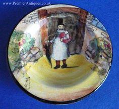 royal doulton | Royal Doulton 'Gaffers' Coaster D4210 - Signed Noke c1930
