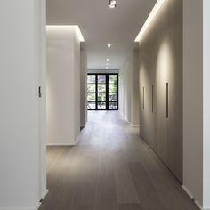 Home Interior Design, Interior Architecture, Interior And Exterior, Minimalist Interior, Minimalist Home, Flur Design, Corridor Design, Hallway Designs, House Goals