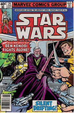 Star Wars 1977 Marvel 24 June 1979 Issue  Marvel by ViewObscura, $7.00