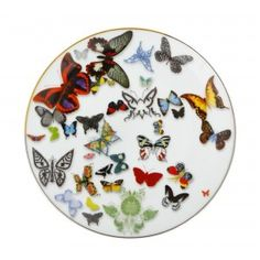 Butterfly Parade Dessert Plate by Christian Lacroix.  Shop It: Jung Lee.