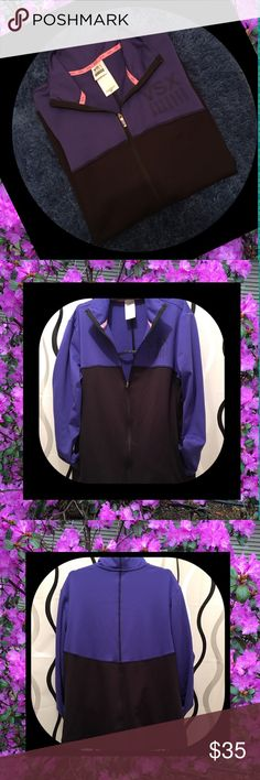 VSX Sport Jacket New w/o Tags. Side Pockets. Size SP. Thumb Holes End of Sleeves. Victoria's Secret Jackets & Coats