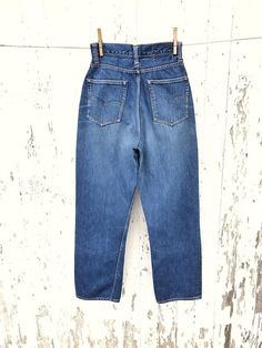 ce5bf4ff Vintage 1950s Levis 501 Big E jeans. True vintage, these are the womens  version