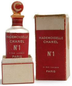 Chanel No 1 Parfum. Never officially sold. 1942-1946 experimentation.