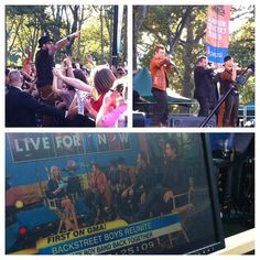 Backstreet's BACK! Which performance was your favorite on Good Morning America today?