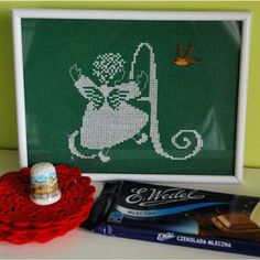 Gift from Danusia :) #thimble #thimbles #collection #collectibles #crossstitch
