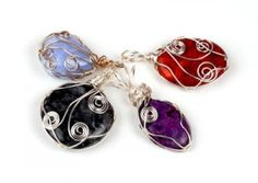 Shiney Lounge » Jewellery Making Classes in Stroud – Wire wrapping ...