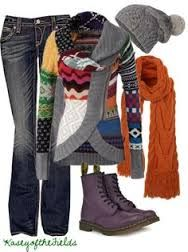 polyvore doc marten boot outfit ideas - Google Search cosby sweater