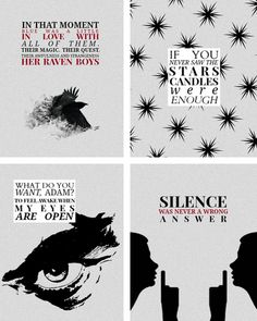 "THE RAVEN CYCLE: The Dream Thieves: 8 quotes  ""While I'm gone,"" Gansey said, pausing, ""dream me the world. Something new for every night."""