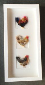"Image of ""Three in a Box Chickens"""