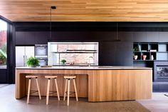 Residential Design shortlist for the 2018 Australian Interior Design Awards. Timber Kitchen, Wooden Kitchen, Kitchen Flooring, Kitchen Furniture, Furniture Stores, Pallet Furniture, Furniture Companies, Cheap Furniture, Discount Furniture