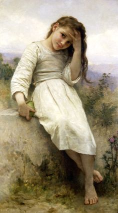 William-Adolphe Bouguereau, The Little Marauder