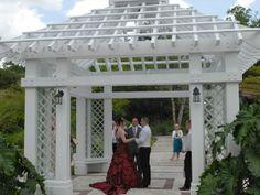 Leu Gardens wedding gazebo.